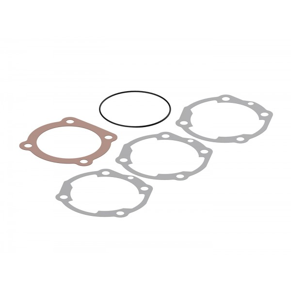 Cylinder gasket set -MALOSSI 210/221 cc SPORT/MHR Ø=68,5mm - VESPA PX, Cosa 200 - Set contains 3 base gaskets, 1x copper head gasket, 1x O-ring gasket for cylinder head