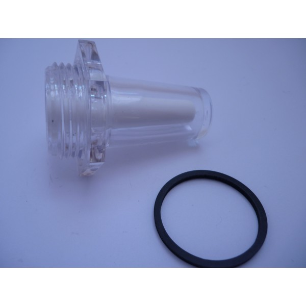 "Genuine Piaggio PX LML T5 Autolube Oil Sight Glass With ""O"" Ring Oil Seal"
