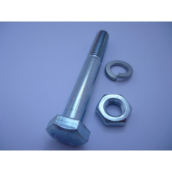 Vespa & LML Rear Shock Nut & Bolt M10 x 75mm Extra Long For Exhaust Mounting